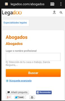 Abogados Barcelona apk screenshot