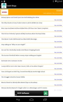 Geek Blogs screenshot 7