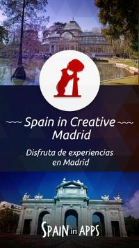 Spain is Creative Madrid poster