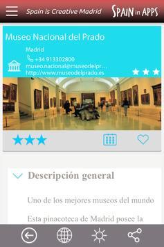 Spain is Creative Madrid apk screenshot