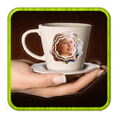 Coffee Cup - Photo Frames icon