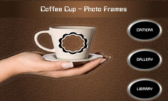 Coffee Cup - Photo Frames poster