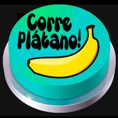 Corre Plátano! Button icon