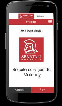 Spartan Motoboys - Cliente screenshot 1