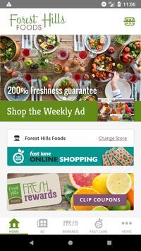 Forest Hills Foods poster
