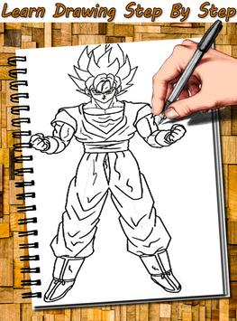 How to Draw DBZ Characters apk screenshot