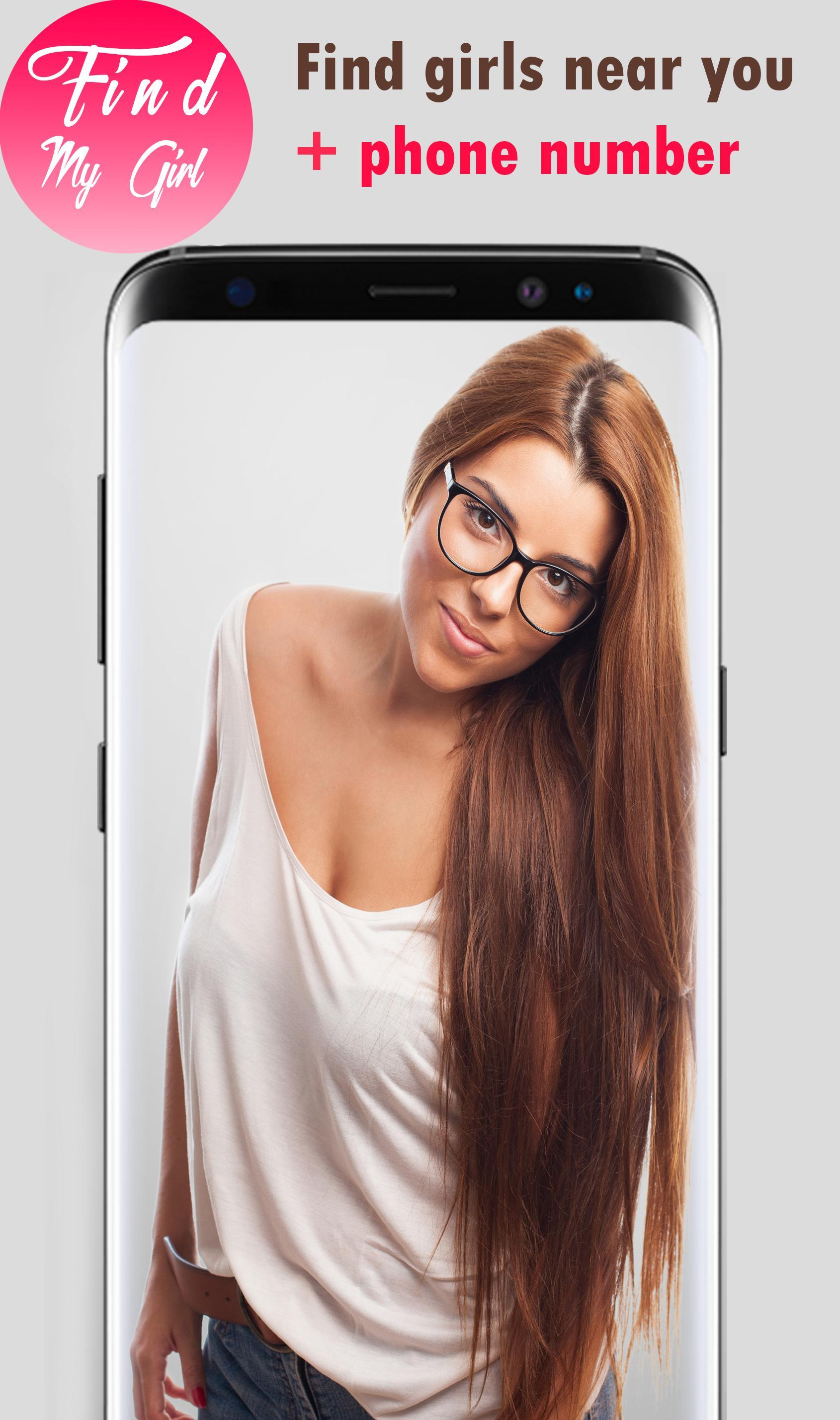 Hot Finder girl Near me + phone number cho Android - Tải