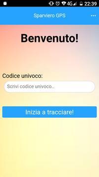 Sparviero GPS screenshot 1