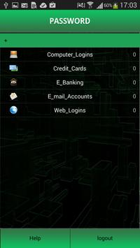 Password Shelter apk screenshot
