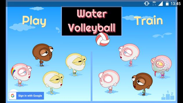 Water Volleyball poster