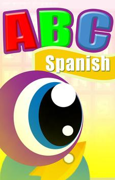 Spanish ABC for kids poster