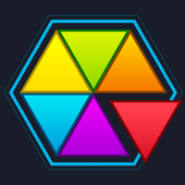Hexagon Color icon