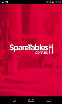 Sparetables poster