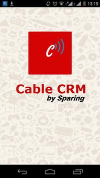 SPARING CABLE CRM poster