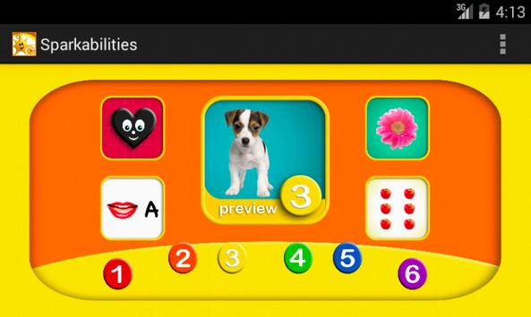 Sparkabilities screenshot 2
