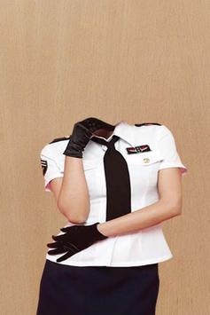Air Hostess Photo Suit apk screenshot