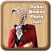 Dubai Woman Photo Suit icon