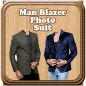 Man Blazer Photo Suit icon