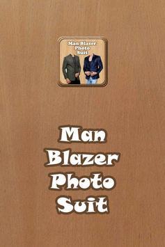 Man Blazer Photo Suit poster
