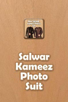 Man Salwar Kameez Photo Suit poster