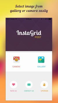 Insta Grid Post Banner ig Tile apk screenshot