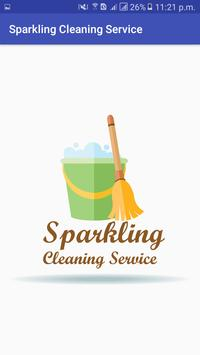 Sparkling Cleaning Service poster