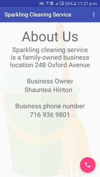 Sparkling Cleaning Service screenshot 1