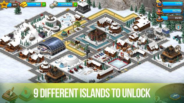 Schermata apk Paradise City: Island Sim Bay