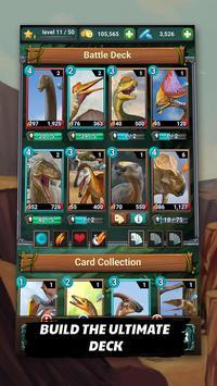 Jurassic Dinosaur: Bahtera Karnivor -Dino TCG/CCG syot layar 2