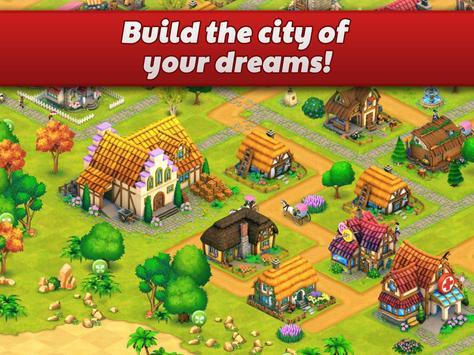 Town Village: Tu propia ciudad, Farm, Build, City captura de pantalla de la apk
