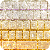 Glowing Glitter Keyboard Theme icon