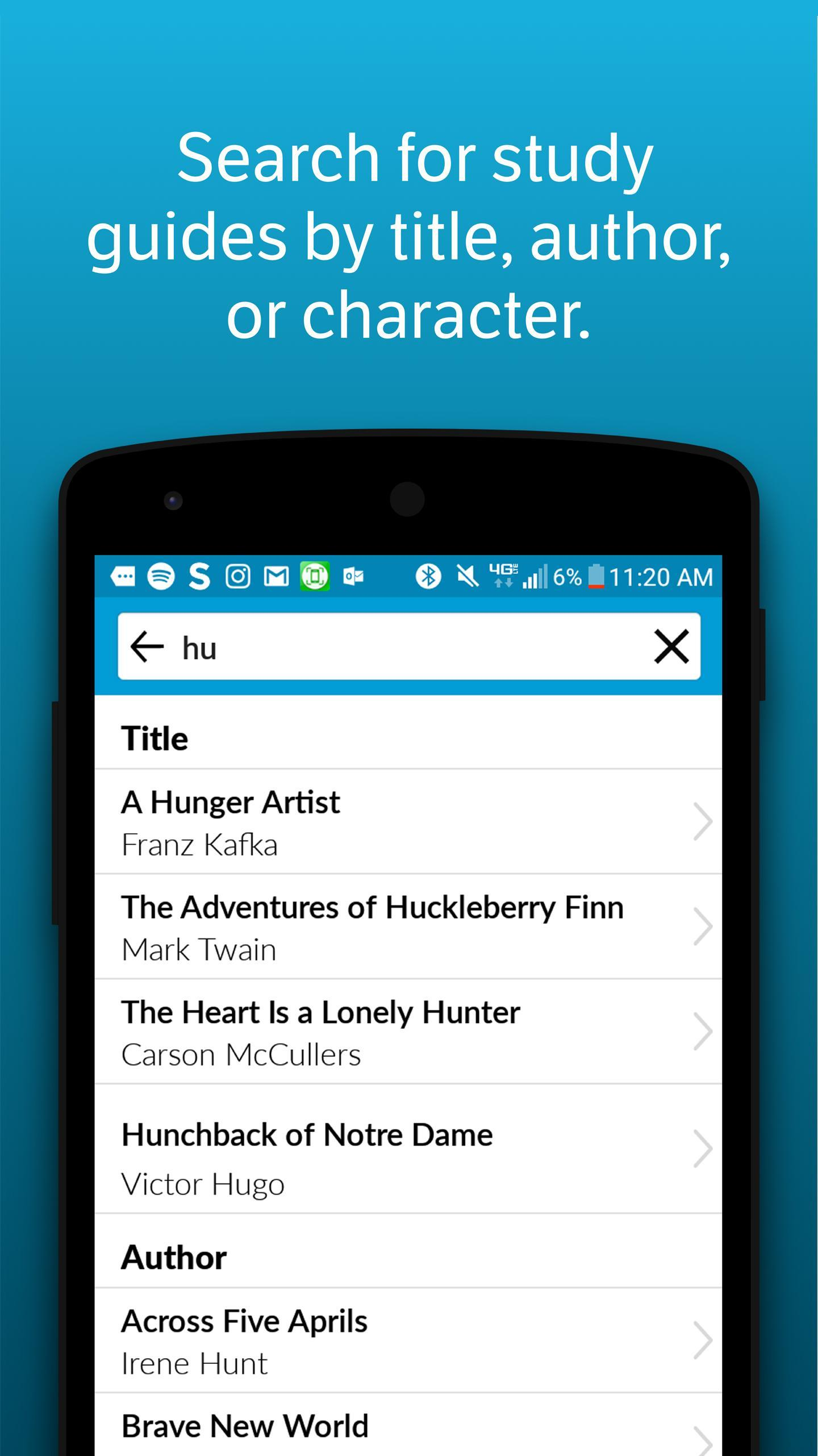 SparkNotes for Android - APK Download
