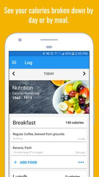 Calorie Counter & Diet Tracker تصوير الشاشة 1