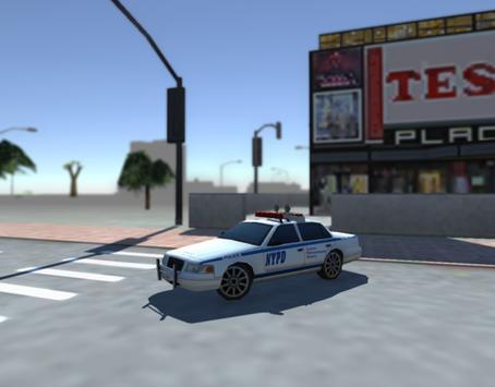 Extreme Police Car Driving SIM screenshot 2