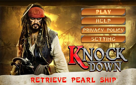 Knock Down by Pirate King Jack apk screenshot