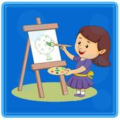 Kids Flowers Coloring icon