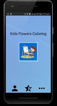 Kids Flowers Coloring screenshot 1