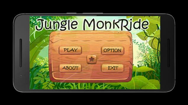Jungle MonkRide poster