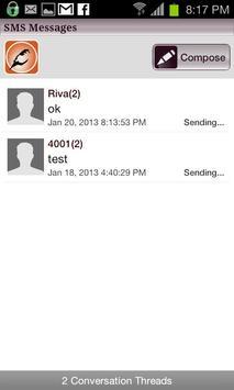 Sparrow SMS Messaging screenshot 1