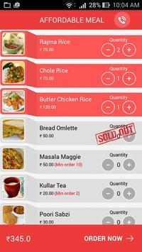 Affordable Meal apk screenshot