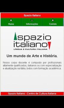 Spazio Italiano poster