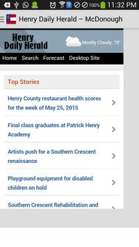 Georgia News apk screenshot