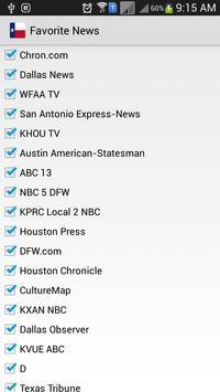 Texas News screenshot 1