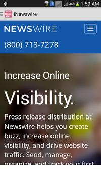 Press Release News apk screenshot