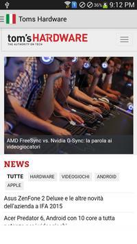 Italian Technology News screenshot 2