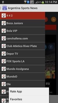 Argentina Sports News apk screenshot