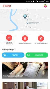 Si Slamet - Aplikasi SPGDT Kabupaten Batang poster