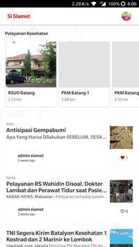 Si Slamet - Aplikasi SPGDT Kabupaten Batang screenshot 1