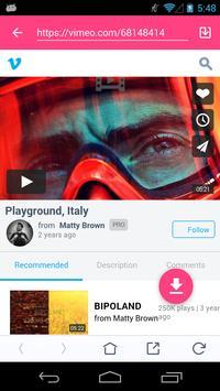 VideoMax apk screenshot