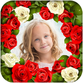 Roses Photo Frames Animated icon